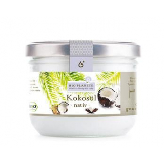 Bio Planète Kokosöl, nativ, 400 ml Glas