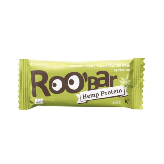 Roo`Bar Rohkostriegel Hemp Protein & Chia, 30 gr S