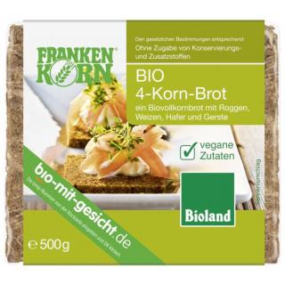 Frankenk 4-Korn-Brot, 500 gr Packung