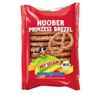 Huober Brezel Prinzessbrezel Sesam, 125 gr Packung