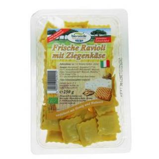 bio-verde Frische Ravioli di capra, 250 gr Packung