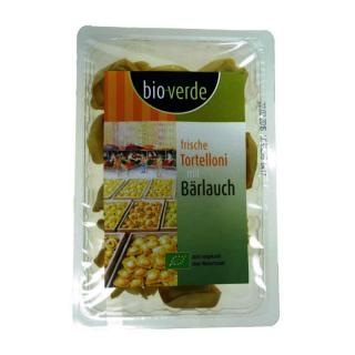 bio-verde Frische Tortelloni mit Bärlauch, 250 gr