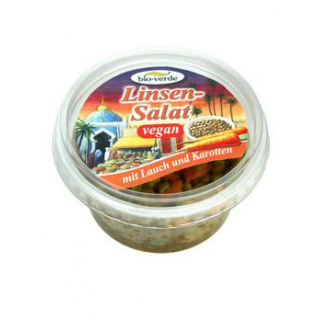 bio-verde Linsen-Salat mit Lauch und Karotte, 125