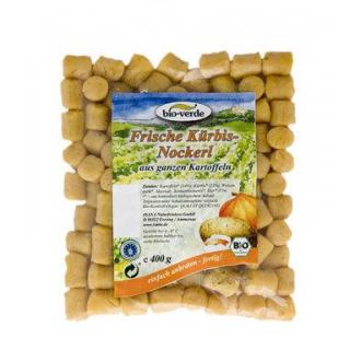 bio-verde Frische Kürbis-Nockerl, 400 gr Packung
