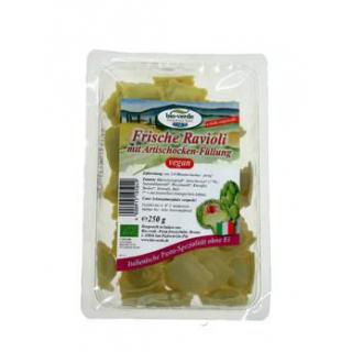 bio-verde Frische Ravioli mit Artischocken-Füllung