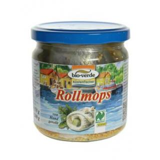 bio-verde Rollmops, 350 gr Glas Abtropfgewicht 200