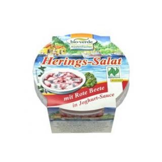bio-verde Heringssalat mit Rote Beete in Joghurtsa