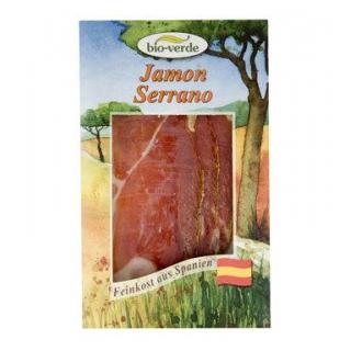 bio-verde Jamon Crudo Schinken, 80 gr Packung