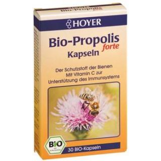 Hoyer Bio-Propolis forte Kapseln, 30 St Packung