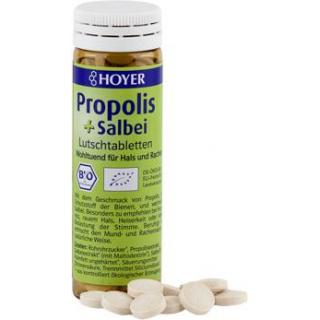 Hoyer Propolis & Salbei, 60 Lutschtabletten