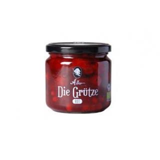 Alber rote Grütze, 380 gr Glas