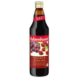 Rabenhorst Kirsche in Traube, 0,75 ltr Flasche