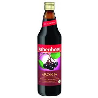 Rabenhorst Aronia Muttersaft, 0,75 ltr Flasche
