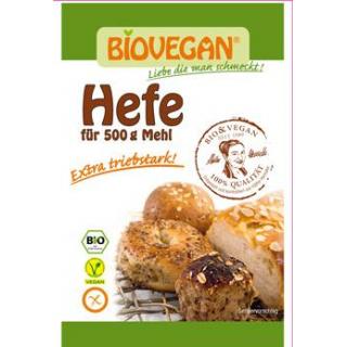Biovegan BIO-Backhefe, 9 gr Beutel
