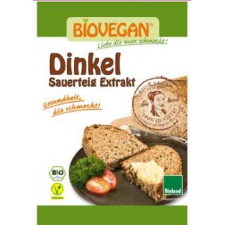 Biovegan Dinkel Sauerteigextrakt, 30 gr Packung