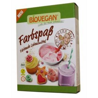 Biovegan Lebensmittelfarben Farbspaß, 5x 8 gr Pack