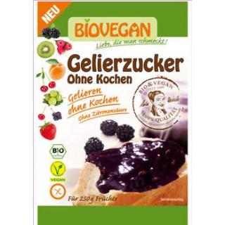 Biovegan Gelierzucker ohne Kochen, 115 gr Packung