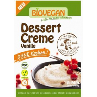 Biovegan Vanille Dessertcreme ohne Kochen, 52 gr P