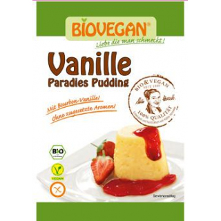 Biovegan Paradies Pudding Vanille, 31 gr Packung