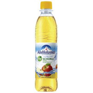 Adelholzener Alpenquellen Apfelschorle, 0,5 ltr PE