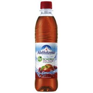 Adelholzener Alpenquellen Apfel-Trauben Schorle, 0