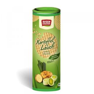 Rosengarten Gemüse-Cracker Kartoffel-Lauch, 80 gr