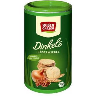 Rosengarten Dinkels Röstzwiebel-Cräcker, 100 gr Do