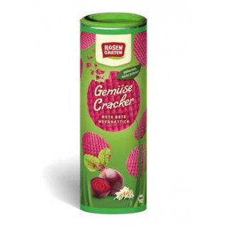 Rosengarten Gemüse-Cracker Rote Beete-Meerrettich,