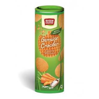 Rosengarten Gemüse-Cracker Karotte-Meersalz, 80 gr