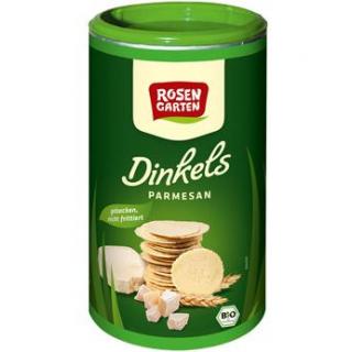 Rosengarten Dinkels Parmesan-Cräcker, 100 gr Dose