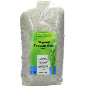 Rapunzel Himalaya Basmati Reis weiß, 1 kg Packung