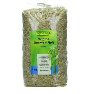 Rapunzel Himalaya Basmati Reis natur, 1 kg Packung