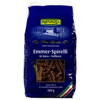Rapunzel Emmer-Spirelli Vollkorn, 500 gr Packung