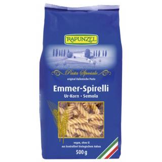 Rapunzel Emmer-Spirelli Semola, 500 gr Packung