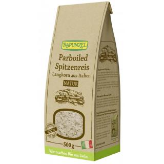 Rapunzel Parboiled Reis natur, 500 gr Packung