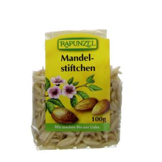 Rapunzel Mandelstiftchen, 100 gr Packung