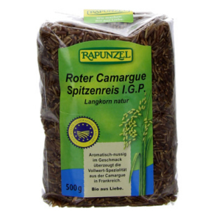 Rapunzel Roter Camargue Spitzenreis natur, 500 gr