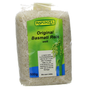 Rapunzel Himalaya Basmati Reis weiß, 500 gr Packun