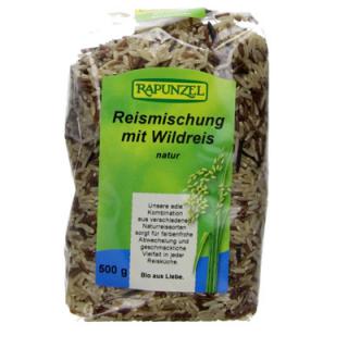 Rapunzel Reismischung mit Wildreis, 500 gr Packung