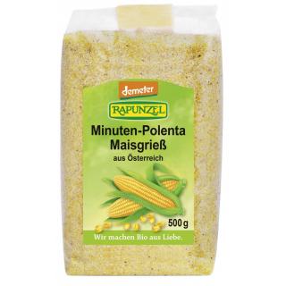 Rapunzel Minuten-Polenta Maisgrieß, 500 gr Packung