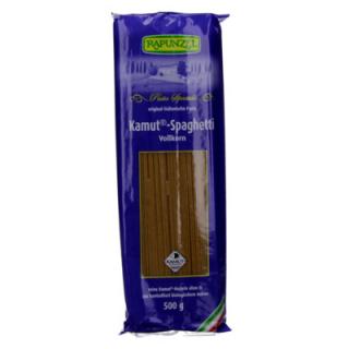 Rapunzel Kamut® Spaghetti Vollkorn, 500 gr Packung