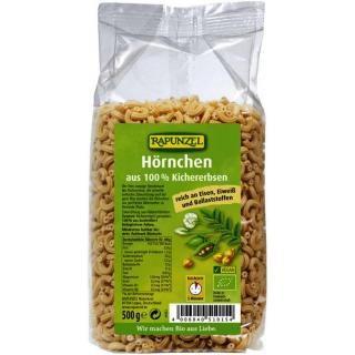 Rapunzel Kichererbsen Hörnchen, 500 gr Packung