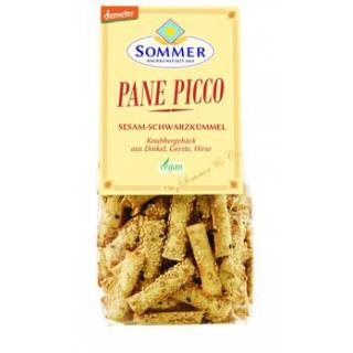 Sommer Pane Picco Sesam und Schwarzkümmel, 150 gr