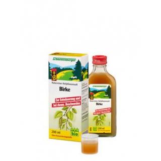 Schoenenberger Birkenblätter-Saft, 200 ml Flasche
