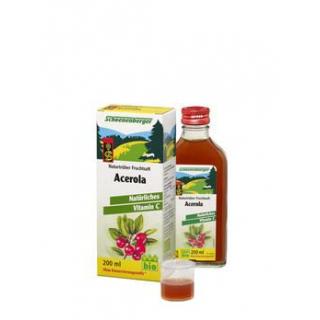 Schoenenberger Acerola-Saft kbA, 200 ml Flasche