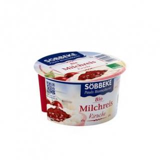 Söbbeke Milchreis Kirsche, 150 gr Becher