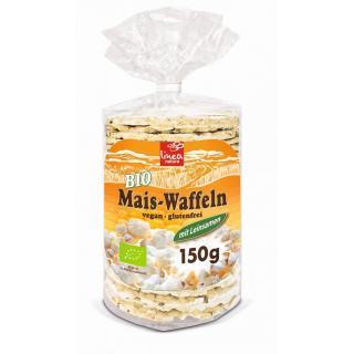 linea natura Maiswaffel & Leinsamen, 150 gr Packun