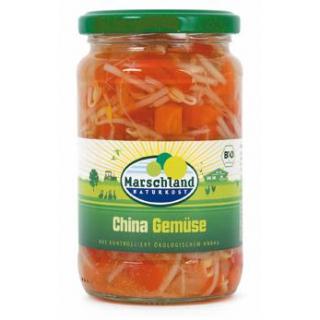 Marschland China-Gemüse, 330 gr Glas (175gr)