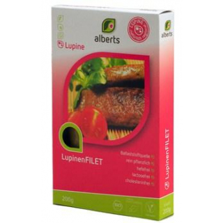 Alberts Lupinen Filet, 200 gr Packung