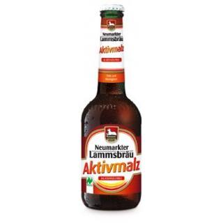 Neumarkter Lammsbräu Aktivmalz Alkoholfrei, 0,33 l
